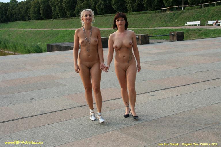 Naked female massage video