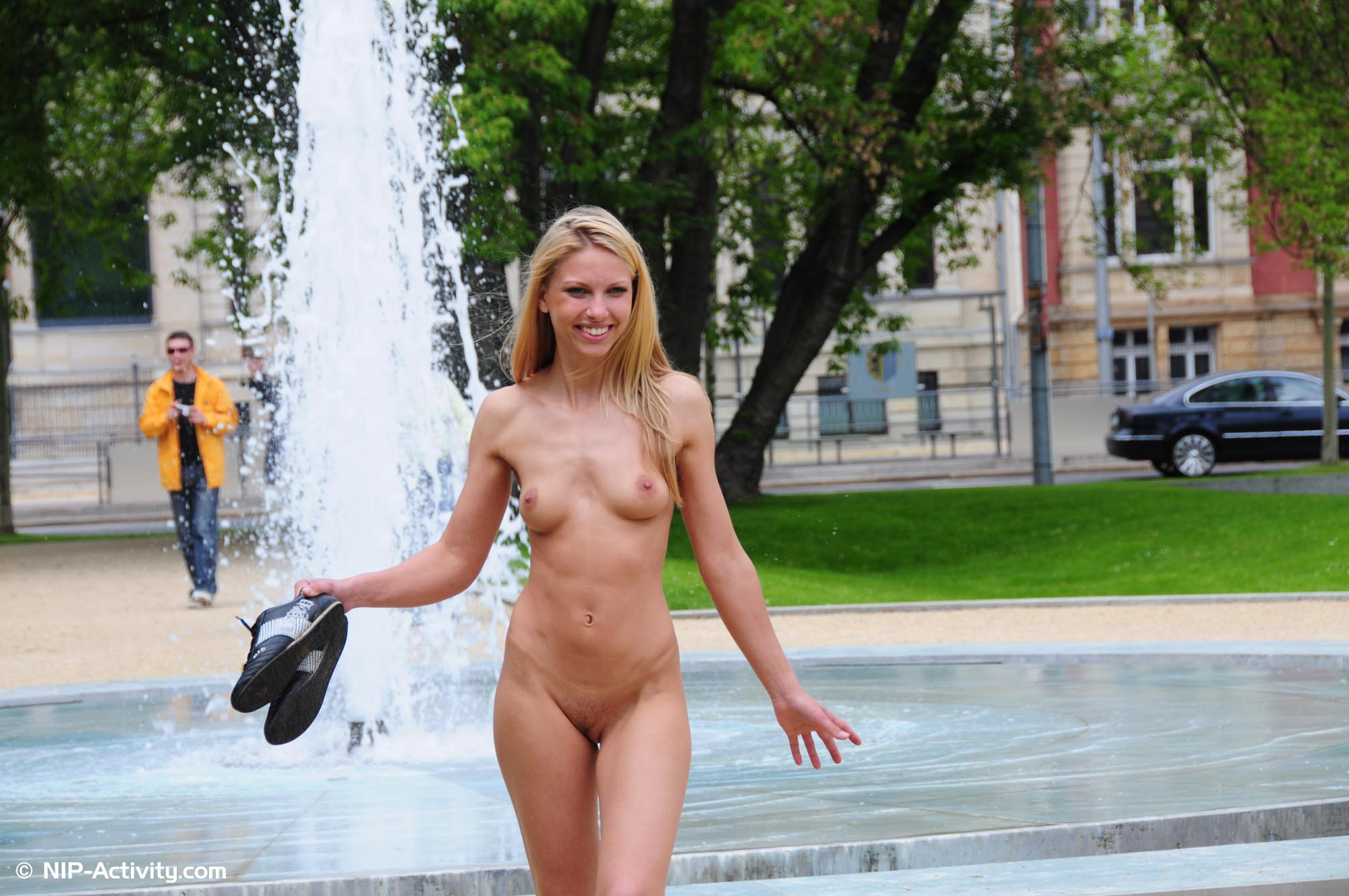 Very Mature women public nude and naked are